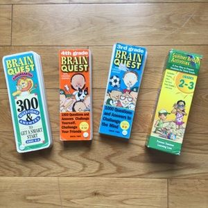 $7 bundle item💙 4 Brain Quest decks